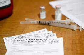 The online market for Covid-19 vaccination cards is booming