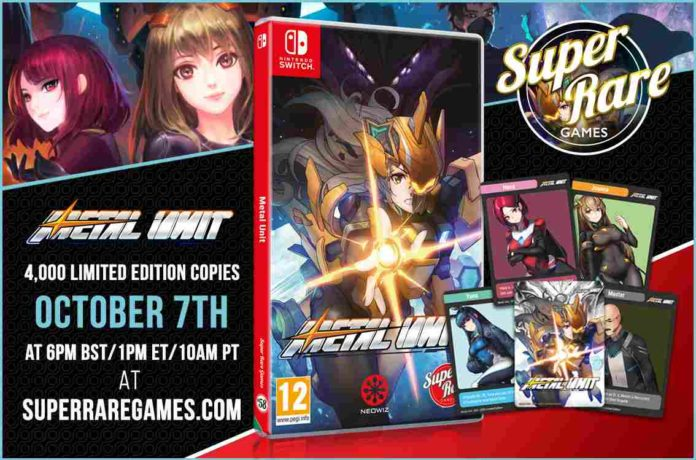 Metal Unit body type is available for Super Rare games next week