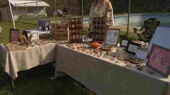 The October Festival was held to help raise funds for the city dam