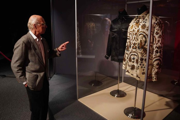 South African President Nelson Mandela's T-shirts
